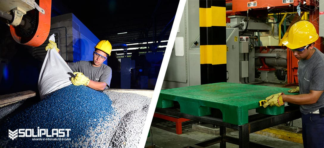 Propiedades del HDPE: sus ventajas y por qué se usa para estibas plástica